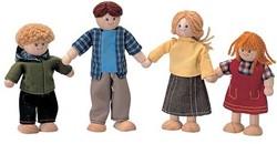 Plan Toys  houten poppenhuis poppen Doll family