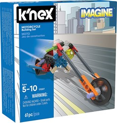 K'nex - constructie - motorfiets