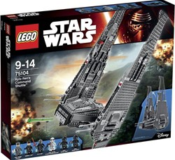Lego  Star Wars set Kylo Ren's Command Shuttle 75104