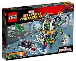 Lego  Super Heroes set Spiderman: Doc Ock's Trap 76059