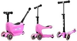 Micro  Mini loopfiets Mini2go Deluxe Plus roze