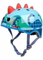Micro step helm 3D Dino maat S