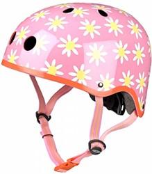 Micro Step helm bloemen maat M