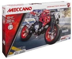 Meccano  constructie speelgoed Ducati motor