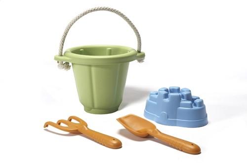 Green Toys - Zandspeelset Groen