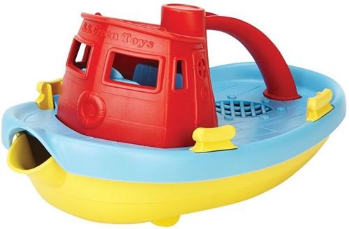 Green Toys - Sleepboot Rood