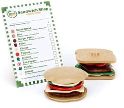 Green Toys Sandwich Shop