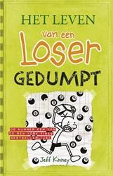 Kinderboeken  leesboek Het leven van een loser - Deel 8 Gedumpt
