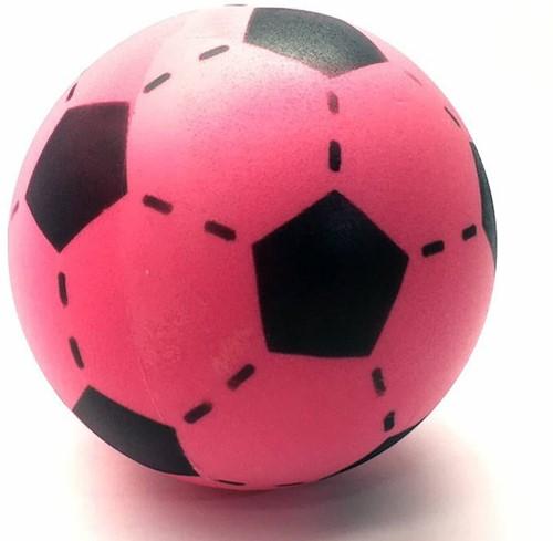 Planet Happy  buitenspeelgoed Foam voetbal roze 20 cm