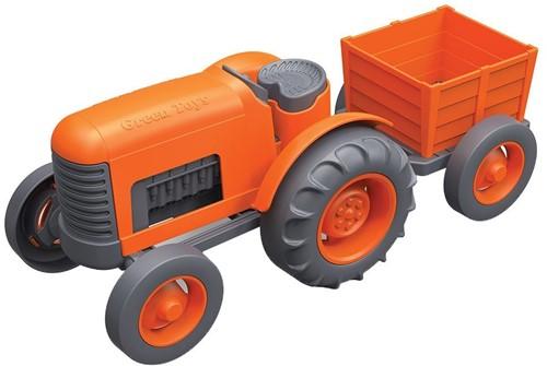 Green Toys - Oranje Tractor