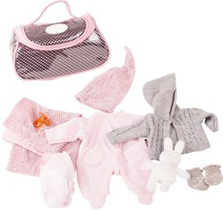 Götz accessoires Combination baby dolls, cosy rabbit, 10-pcs.