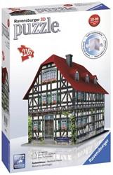 Ravensburger  3D puzzel Vakwerkhuis