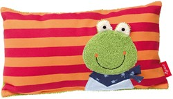 Sigikid  pluche knuffel Kussen Folunder Frog - 35 cm