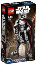 Lego  Star Wars set Captain Phasma 75118
