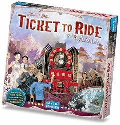 Days of Wonder bordspel spel Ticket to Ride - Azie