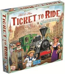 Days of Wonder bordspel Ticket to ride Germany