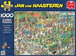 Jumbo  Jan van Haasteren legpuzzel Speeltuin, van Haasteren - 1000 stukjes