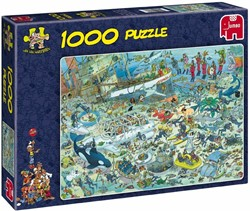 Jumbo  Jan van Haasteren legpuzzel Onderwater st - 1000 stukjes