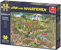 Jumbo Jan van Haasteren puzzel The Park - 500 XL stukjes