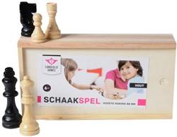 Longfield games bordspel schaakstukken hoogte koning 88mm