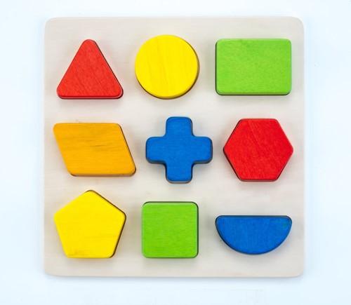 Planet Happy Sorteerbord geometrisch 9 vormen