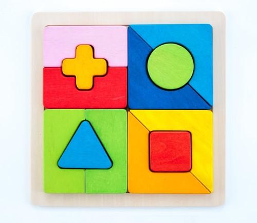 Planet Happy Sorteerbord geometrisch vormen combi