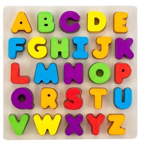 Engelhart vormenpuzzel Alfabet - 26 stukjes