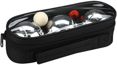 Planet Happy - Buitenspeelgoed - 3 jeu de boule in zwarte tas
