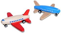Buitenspeel houten buitenspeelgoed vliegtuig rood