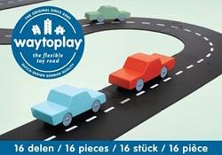 Waytoplay  speelstad weg Autoweg 16-delig