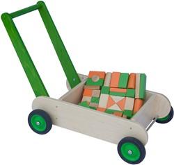 Van Dijk Toys blokkenset groen/oranje