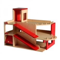 Van Dijk Toys  speelstad gebouw Garage met lift