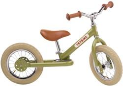 Trybike loopfiets vintage groen - tweewieler