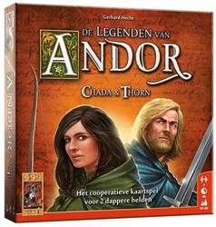 999 Games - bordspellen - De Legenden van Andor Chada en Thorn
