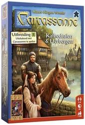 999 Games spel Carcassonne: Kathedralen & Herbergen