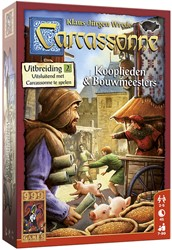 999 Games spel Carcassonne: Kooplieden & Bouwmeesters