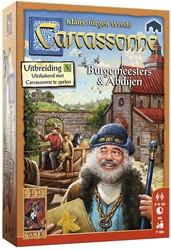 999 Games spel Carcassonne: Burgemeesters en Abdijen