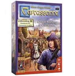 999 Games spel Carcassonne: Graaf, Koning en Consorten