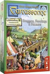 999 Games Bordspel Carcassonne: Bruggen, Burchten en Bazaars