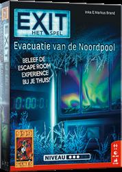 999 games bordspel Exit evacuatie van de Noordpool
