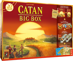 999 games Catan: Big Box Jubileumeditie