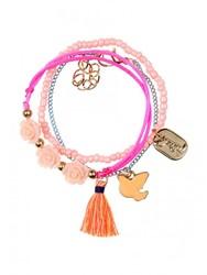 Souza - Sieraden - Bracelet Miek, coral-pink-mint