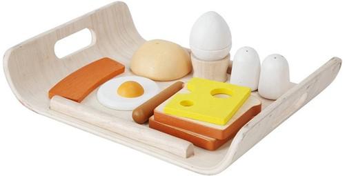 Plan Toys  houten keuken accessoires Breakfast Menu