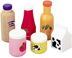 Plan Toys  houten keuken accessoires Food & Beverage Set