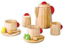 Plan Toys  houten keuken accessoires Tea Set