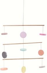 Plan Toys - babymobiel - Gekleurde Houten Cirkels