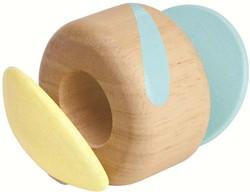Plan Toys houten rammelaar Klapper roller