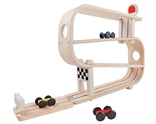 Plan Toys houten racebaan