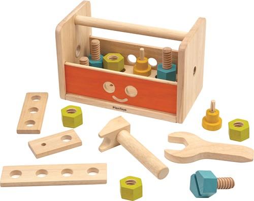 Plan Toys houten gereedschapskist