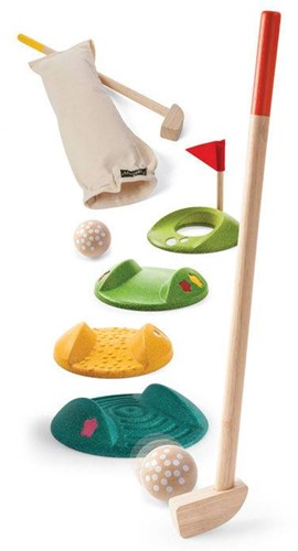 Plan Toys mini golf set